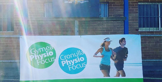 Gymea Physio Focus Proudly Supporting Burraneer Rugby Senior